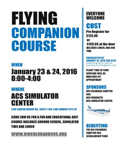 FLYING COMPANION COURSE 2016 [Read-Only]